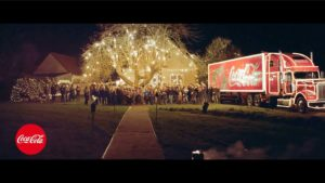 Coca Cola XMAS/Weihnachts shooting 2017 - Endemole Shine Beyond - full production service