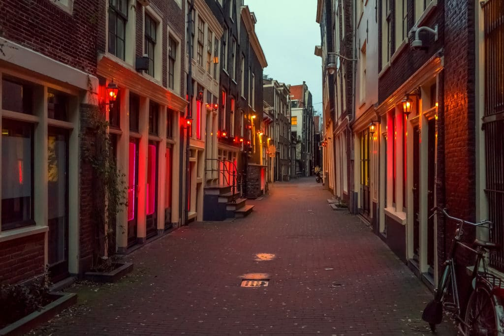 yolo films, location, film location, shooting location, Red light district Amsterdam, Netherlands